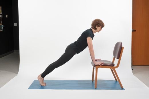 Chair Plank Wellness
